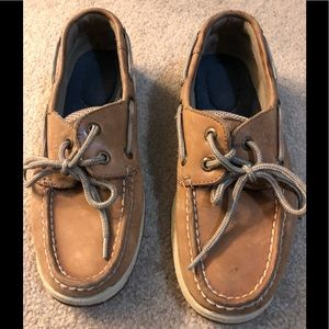 Women's sperry topsider shoes/brown